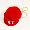 35-Red fur ball