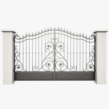 Modern House Wrought Iron Main Gates Designs Simple Gate Electric Sliding Driveway Residential wrought iron gates