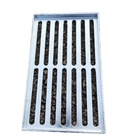 Building Materials Carbon Steel / Stainless Steelcarbon Steel / Stainless Steel Dipped Galvanized Grating 30/32mm Hot Dipped Galvanized Serrated Steel Grating For Building Materials Fence Drainage/platform