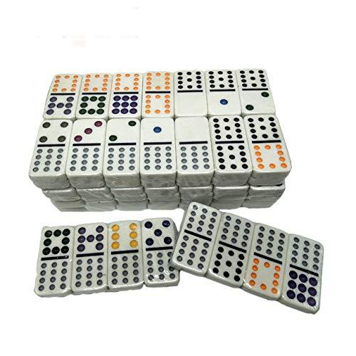 Wholesale Aluminum Box Custom Logo Mexican Train Antique Domino Game Domino Set