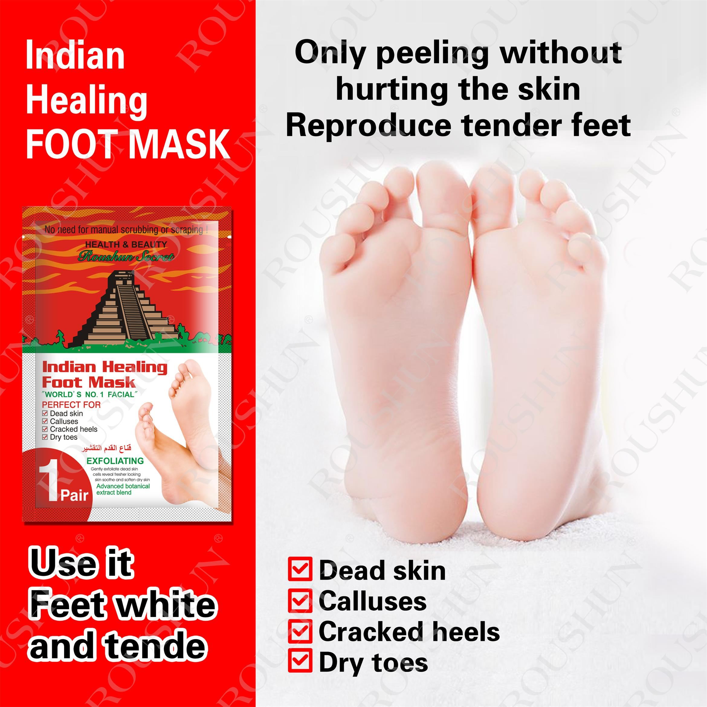 indian foot mask