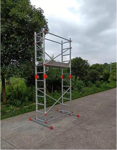 3,32 М алюминиевая Многофункциональная лестница с регулируемой платформой