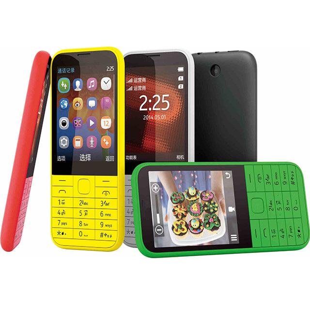 Оригинальный телефон для Nokia 225, мобильный телефон с двумя SIM-картами, FM, GSM, разблокированный сотовый телефон