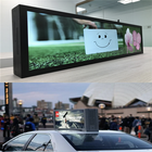 Screen Digital Screens Display Wholesale Double Sided Screen Super Slim Android Digital Car Taxi Top Advertising Lcd Display