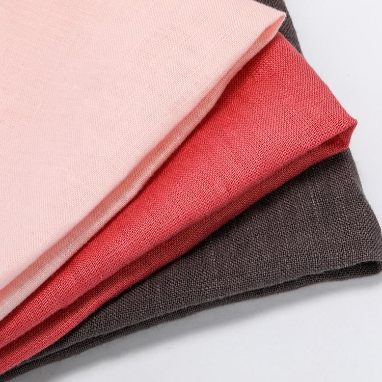 Натуральная льняная ткань, плотная детская одежда, льняная ткань, различные цвета, конопляная ткань