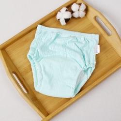OEM/ODM eco-friendly infant toddler organic 100% cotton short pants undies custom walking training baby underwear