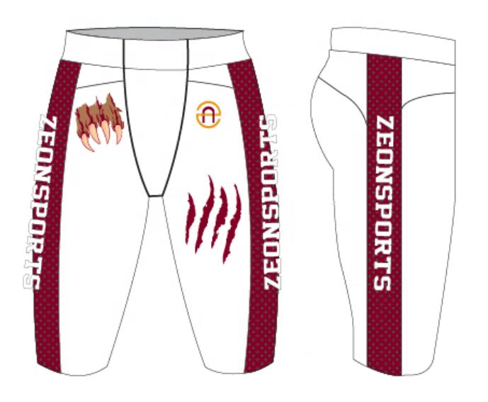 Новый дизайн, пользовательские американские футбольные униформы, полностью сублимационные футбольные штаны