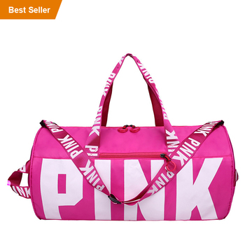 Fashion Amazon Hot Sale OEM Logo Bags Colorful Outdoor Street GYM Hand Bags Duffel Sport Handbag for Women