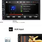 Audio Stereo Universal WinCe Car Radio Autoradio Multimedia Touch Screen 2 Din Audio Stereo Car DVD Player