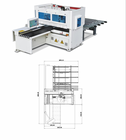Woodworking Multi Sides Drilling Equipment of Wood Furniture machines CNC Router Six Sides Drilling Center Machinery