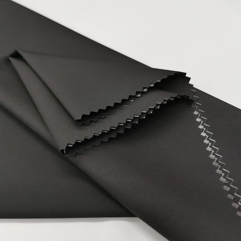 380T полиэстер эпонж прозрачная мембрана водонепроницаемая ткань для одежды