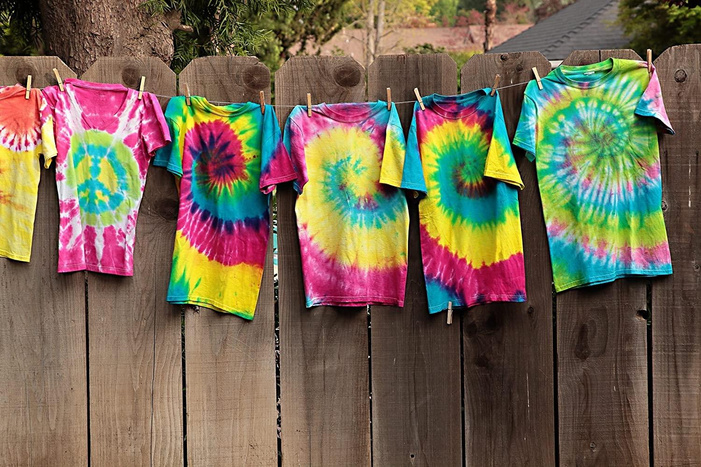 3 Colors 125ml Non Toxic Textile One-step Party Tie Dye Diy Kit Tie Dye Painting Tie Dye Kit