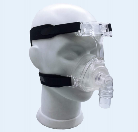 Silicone CPAP full face mask one piece design Size S M L - KingCare | KingCare.net