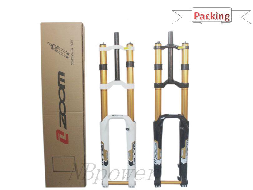 Велосипедные запчасти Zoom вилка 680DH 26 дюймов или 27,5 дюйма Подвеска для велосипеда горная передняя вилка