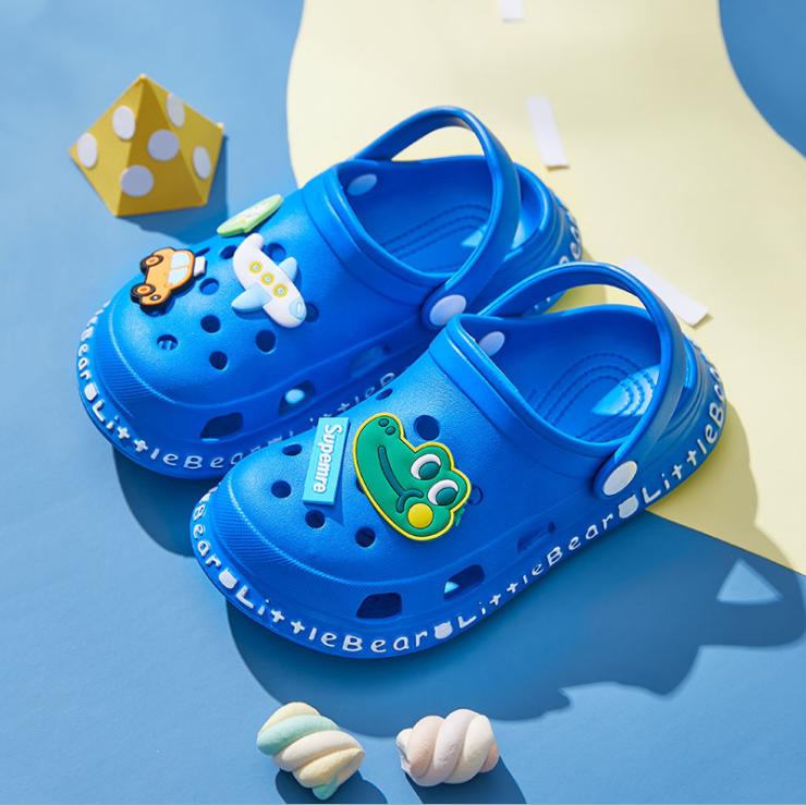 Детская одежда для мальчиков и девочек; Нескользящие домашние сандалии с мягкой подошвой; Летние сандалии; Сабо для детей