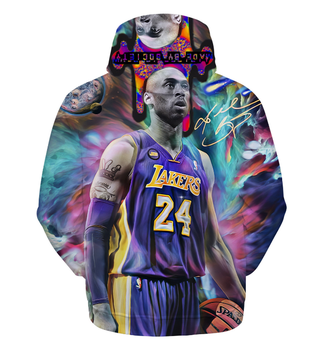Fashion Streetwear Kobe Bryant Hoodie 3D Print Sweatshirt Multiple Colour Women Mens Hoodies Pullover
