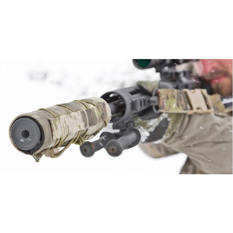 Durable Wrap Nylon Cordura Camo Kryptek Tactical Military High Temperature Resistant Heat Shield Suppressor Cover
