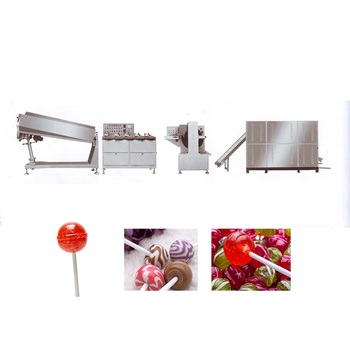 High efficiency !!! Full Automatic Lollipop Making Machine/ +86 15939582629