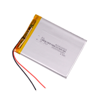 3.7V 3000mAh Lithium Battery 406080 Lithium Polymer li-polymer Li Po Rechargeable Battery For Tablet GPS Power Bank High Quality