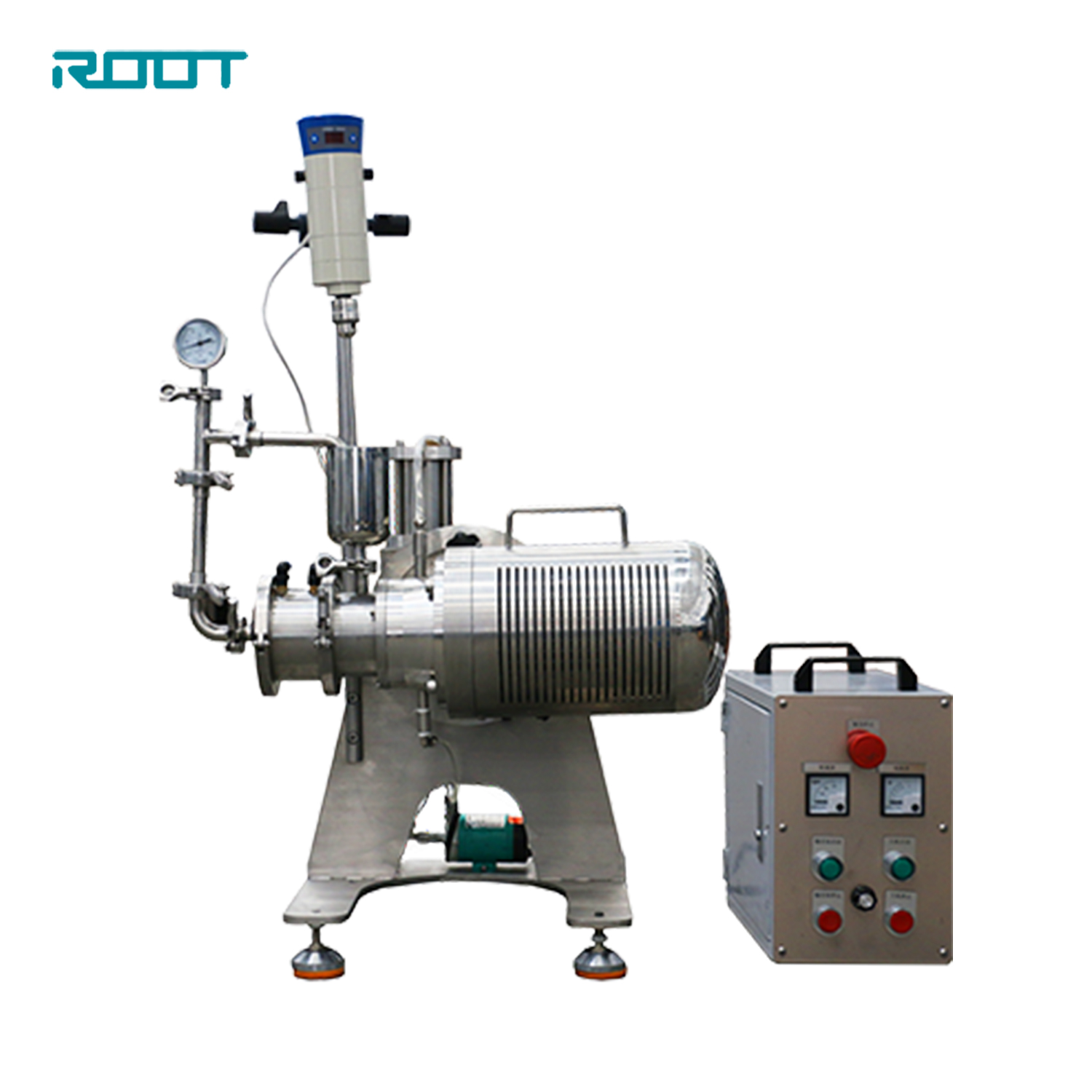 ROOT lab small 0.2L horizontal sand mill for color paint formulation research