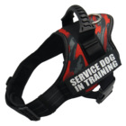 2021 High Fashion Quality No Escape Neoprene Strong Service Dog No Pull Adjustable Dog Harness