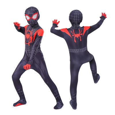 Хэллоуин Человек-паук 2 майль колготки параллельный космический костюм Одежда для взрослых и детей одежда Gwen