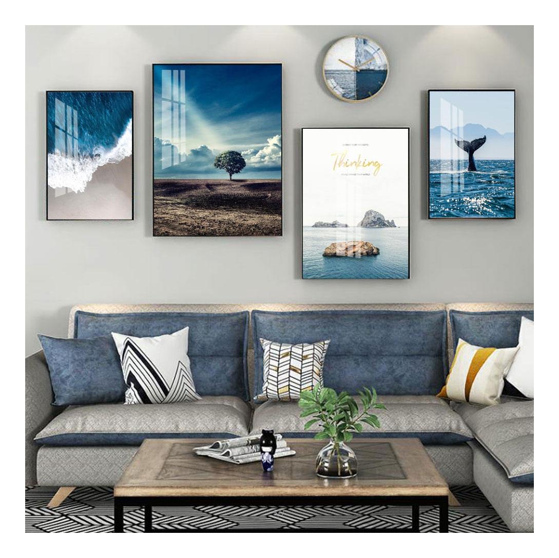 Текстурированная красочная декоративная рамка картина 3D картина рамка гостиная картина