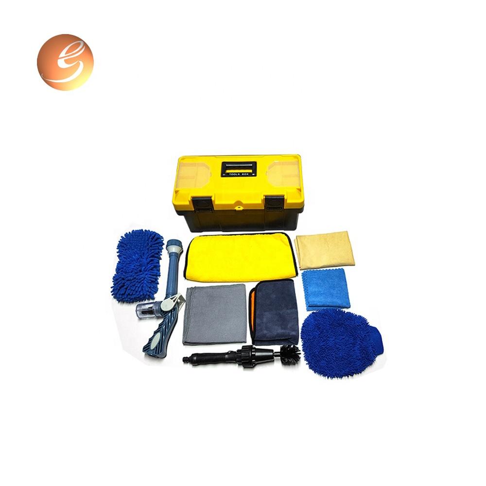 Good quality Microfiber cloth cleaning set car washing kit