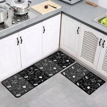 Украшение для дома геометрический кухонный Коврик противоскользящий водонепроницаемый коврик для ванной домашний коврик для входной двер...(Китай)