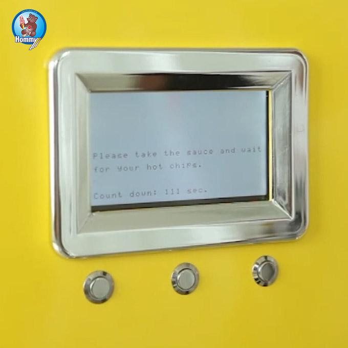 Китайский завод питания машина для производства картофеля фри фаст-фуд торговый автомат для картофеля фри торговый автомат