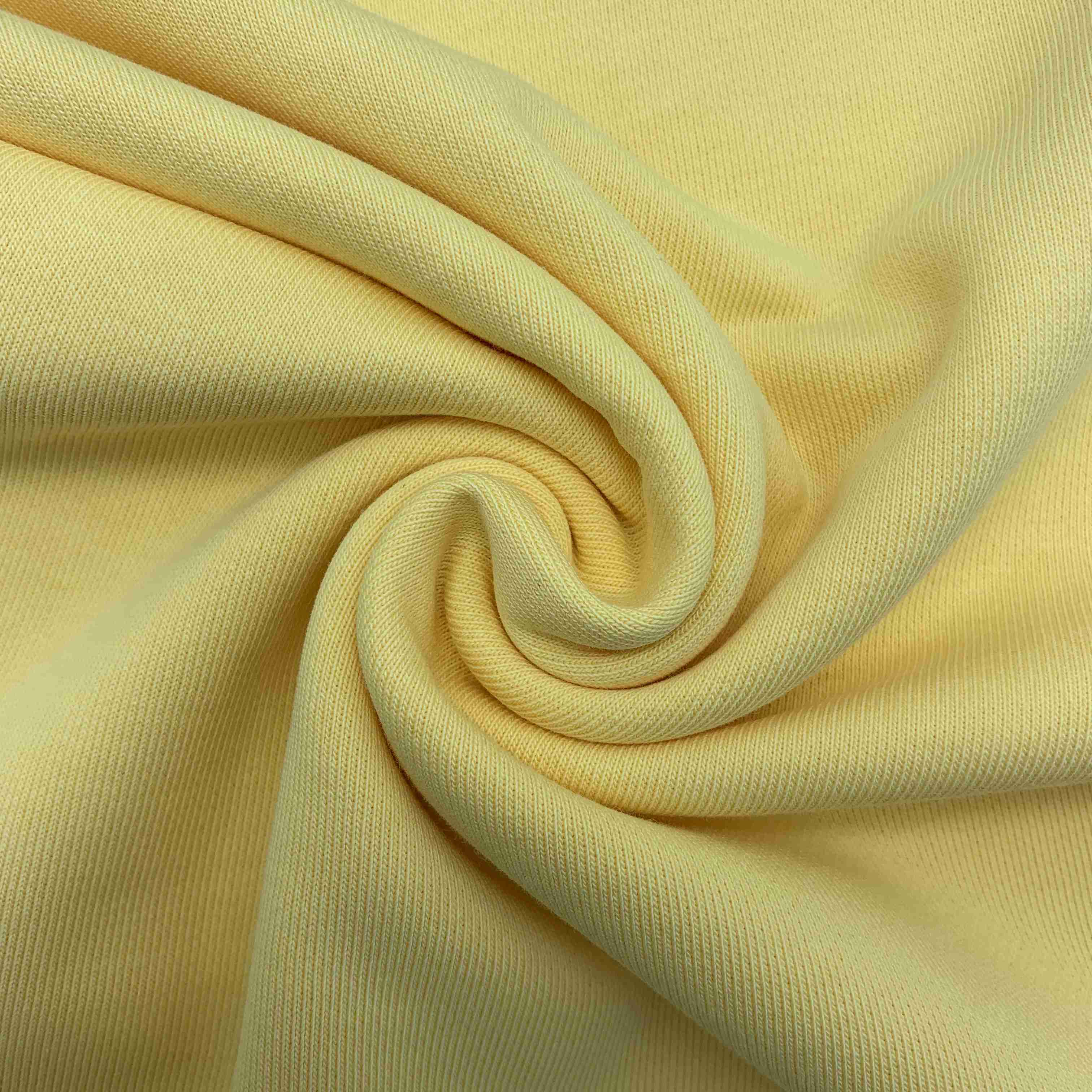 100% cotton spandex french terry cloth fabric for hoodies
