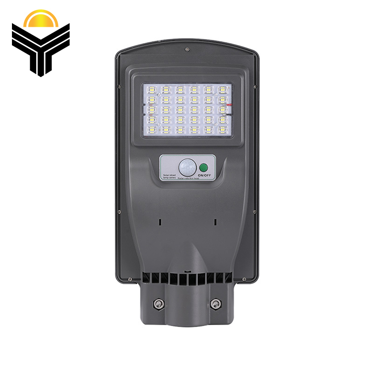 Polycrystalline Silicon ABS PC Outdoor Waterproof IP65 30W 60W 90W All In One LED Solar Street Light
