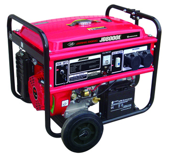 Gasoline Generator JIANGDONG JD Power China 6.5kw Air cooled 4 stroke JF420 AVR
