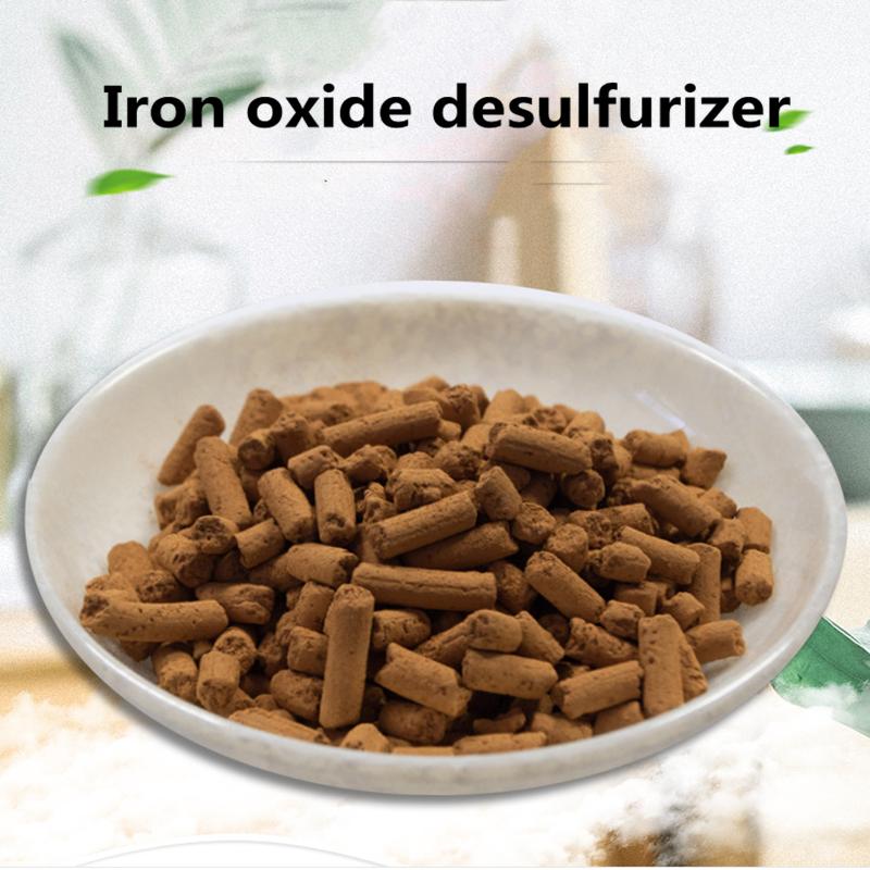 Природный газ, органический анаэробный десульфурирующий агент, оксид железа, десульфуризация природного газа