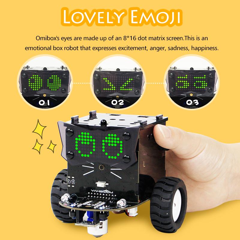 Паровой Графический программируемый Omibox Arduinos набор для робота с царапинами 3,0 и Arduino IDE для детей 8 лет