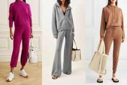 Women's Cashmere Suit Clothes Knitted Turtleneck Female Wool Cashmere Sweater Pant 2 Piece Set Women Sweater Knit Two Piece Set