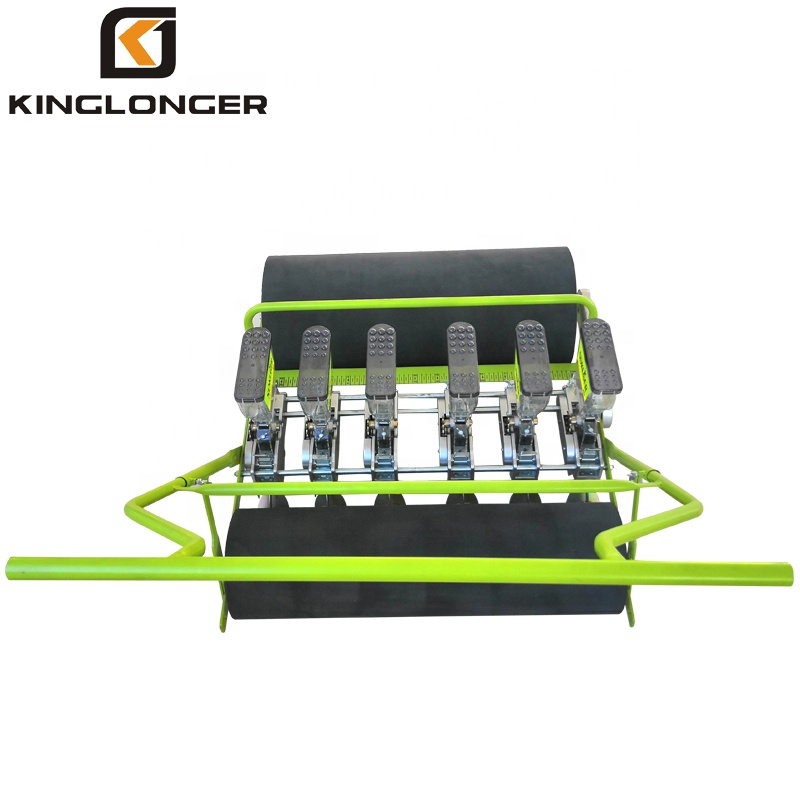High Quality 6 Row Hand Push Manual Vegetable Seeder / Pepper Seeder