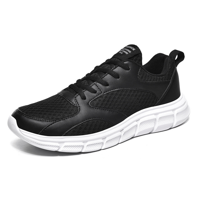 One Pair Custom Logo New Arrivals Mesh Upper casual Sneaker MD Sole Big Size Outdoor Running Sports Shoes for Men