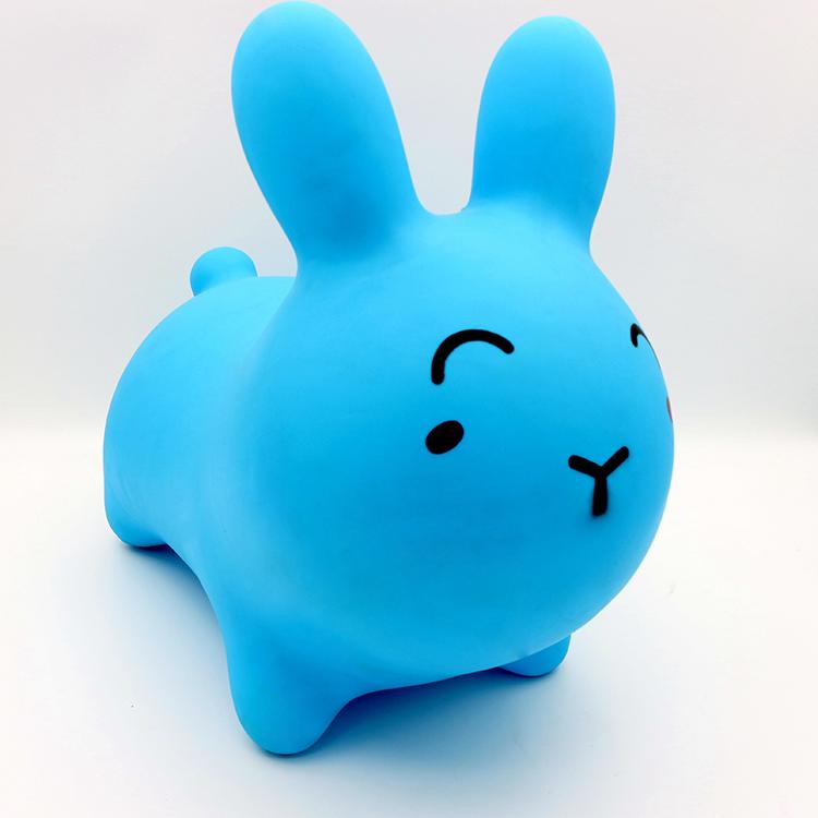 Blue cute soft animal toy funnel animal elastic animal toy wholesale