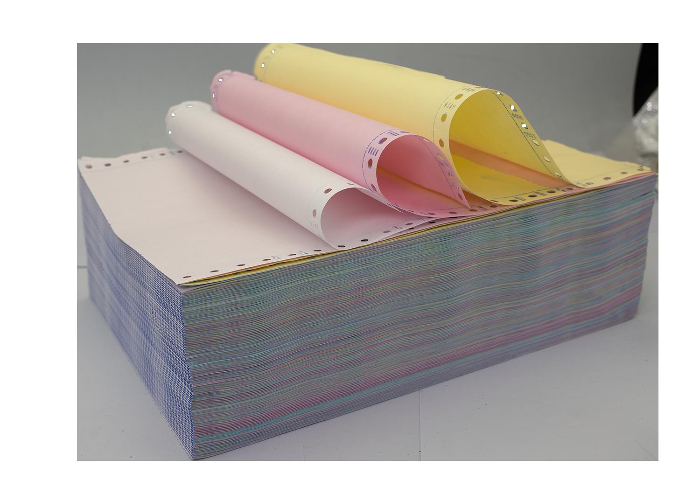1st производитель 3 слоя непрерывная подача cамокопирующая бумага компьютера NCR бумага форма экземпляров для распечатки счетов безуглеродистой бумагой