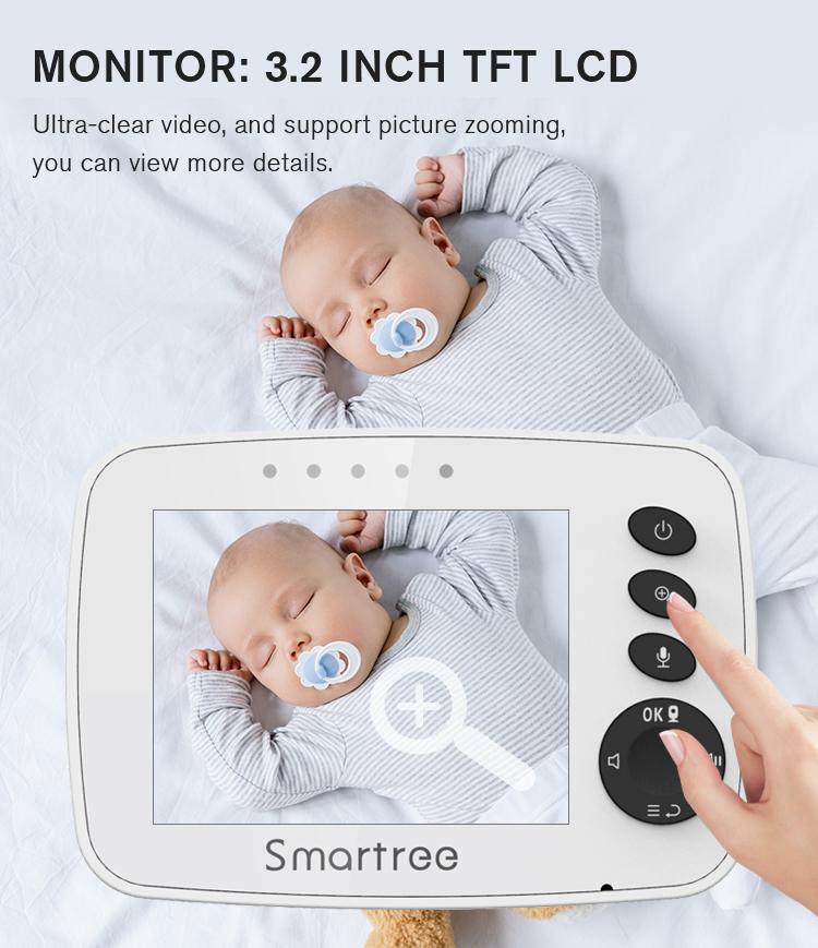 Прямая продажа с завода, монитор слежения за ребенком, ЖК-мониторы victure, видеоняня с камерой