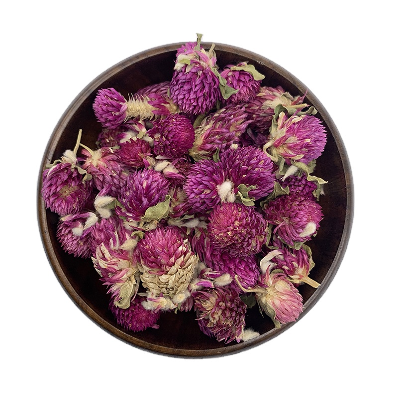 0190 Wholesale all year round hot selling natural and healthy Globe amaranth Flower tea in bulk bags - 4uTea | 4uTea.com
