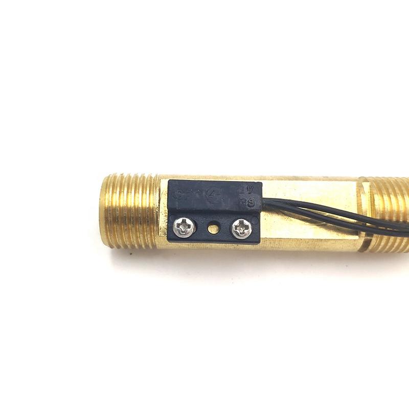 Запчасти для газового водонагревателя, латунный медный переключатель потока с магнитным датчиком