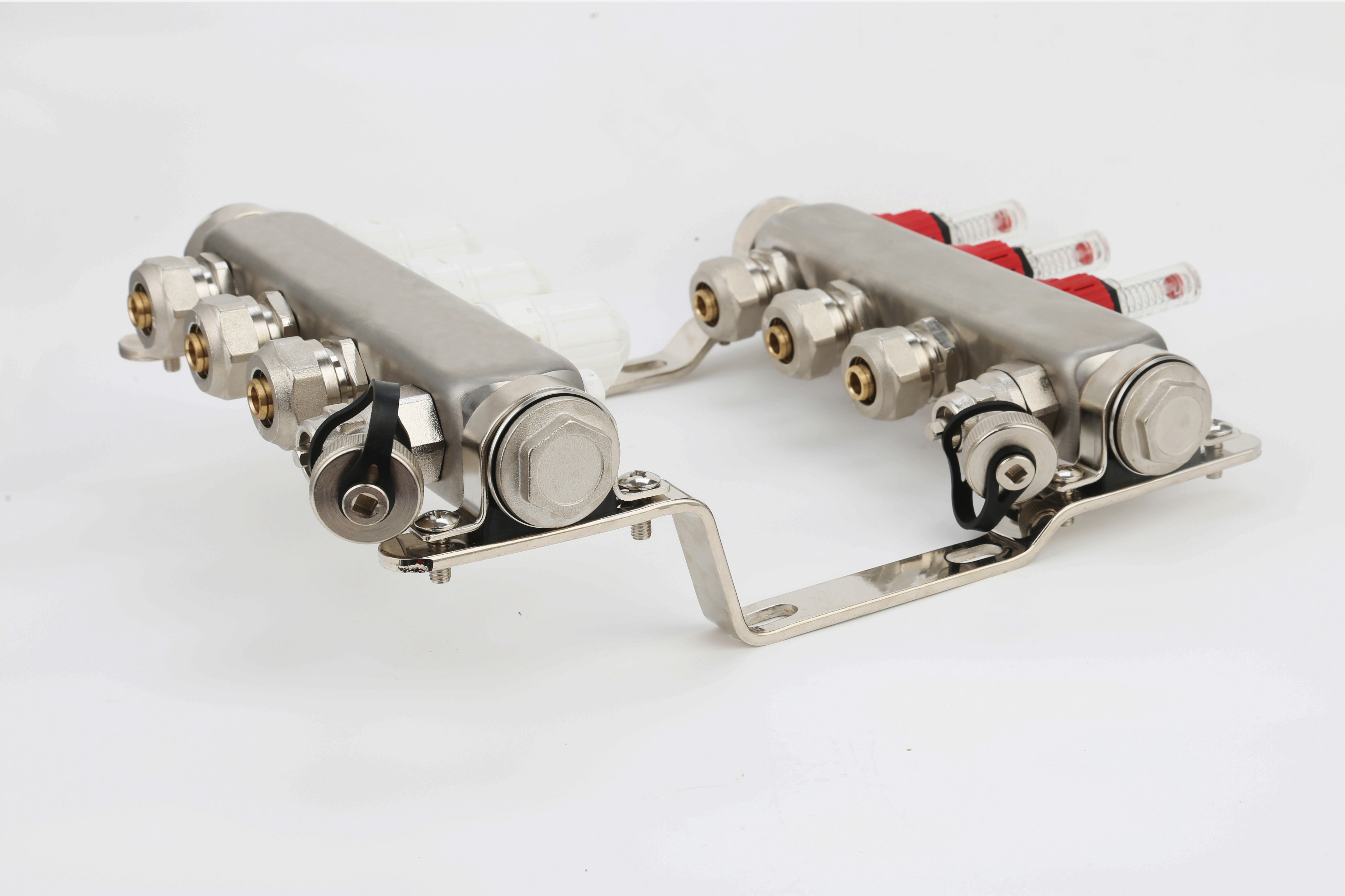 ZHONGLIANG ZL-1175ED 2-12 Ways Stainless Steel Collectors Water Jacket Manifold