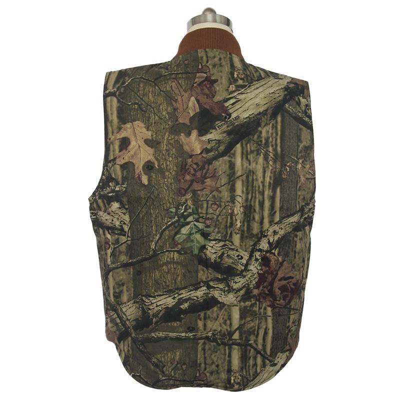 Мужская охотничья жилетка без рукавов, рабочая одежда для улицы, жилет, рабочая одежда, хлопковая, с логотипом на заказ, приемлемая верхняя одежда, военная одежда, 1000 шт.