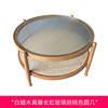 Big brown coffee table