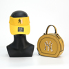 Yellow  purse and hat