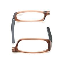 Складные Магнитные очки для чтения для мужчин и женщин, магнитные очки, регулируемые висящие на шее очки для дальнозоркости + 1,0 1,5 2,0 2,5 3,0 3,5 4.(Китай)