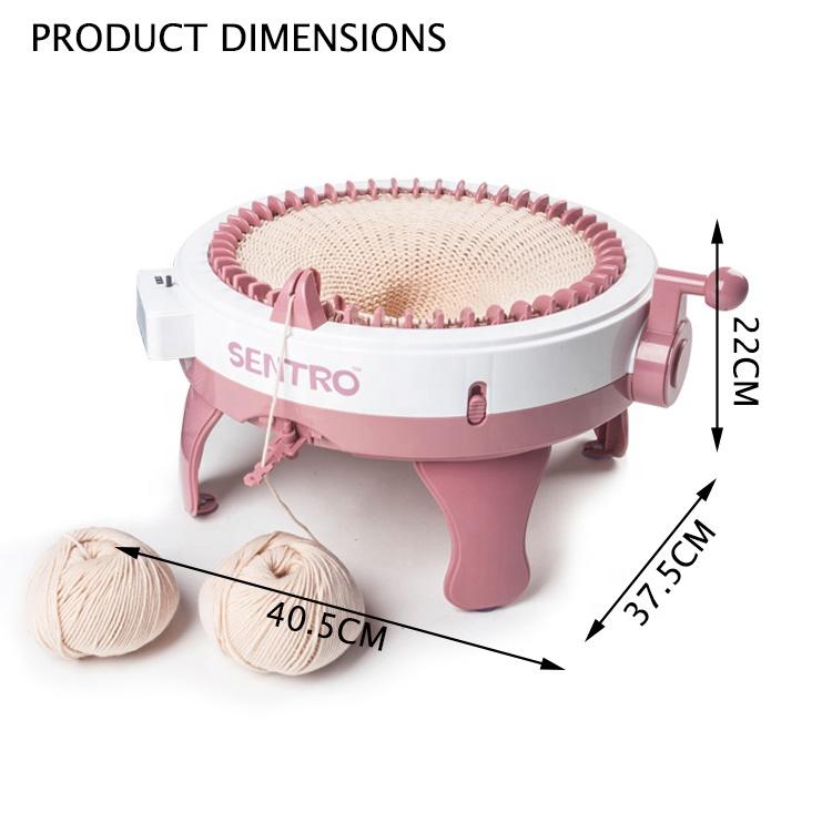 Игрушки «сделай сам» для девочек, сухая многофункциональная вязальная машина ручной работы