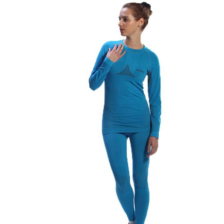 Модные Недорогие синие комплекты 600, спортивное женское длинное термобелье с подогревом для женщин